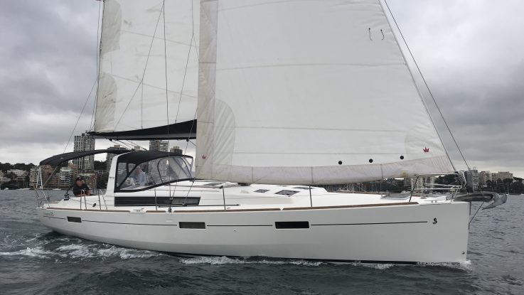 Beneteau Oceanis 45 'Balance' - October 2019
