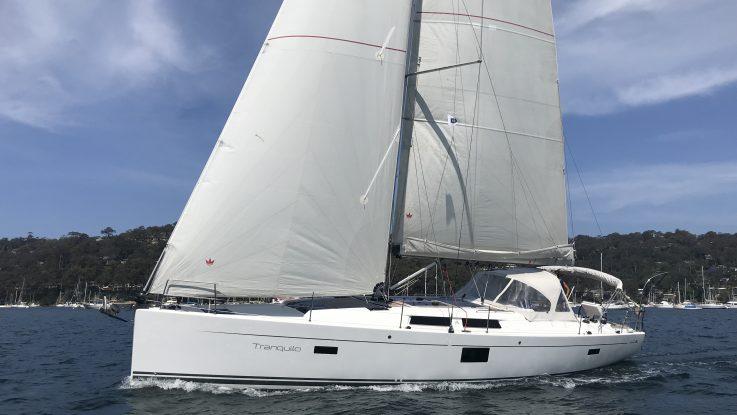 Hanse 455 - Tranquilo - September 2019